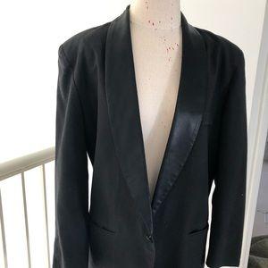 Vintage Tuxedo styled Boyfriend Blazer